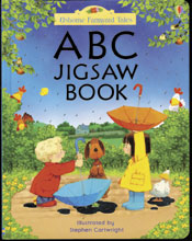 ABC Jigsaw Puzzle Book