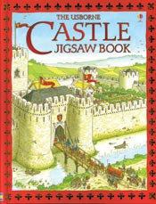 castle jigsaw puzzle book