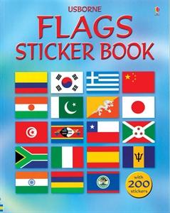 Flag sticker book