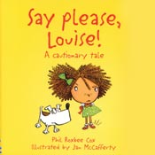 behavior book - say please louise