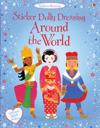 sticker dollyl dressing around the world