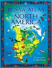 Jigsaw Atlas North America